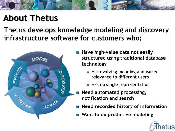 About Thetus