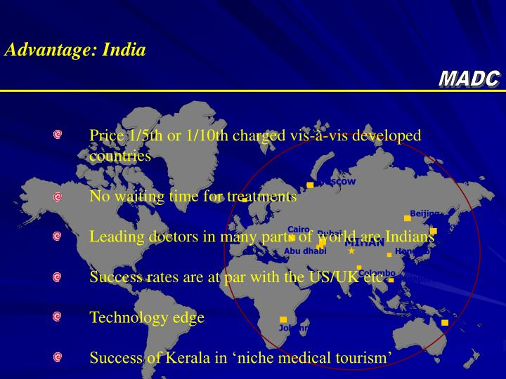 Advantage: India