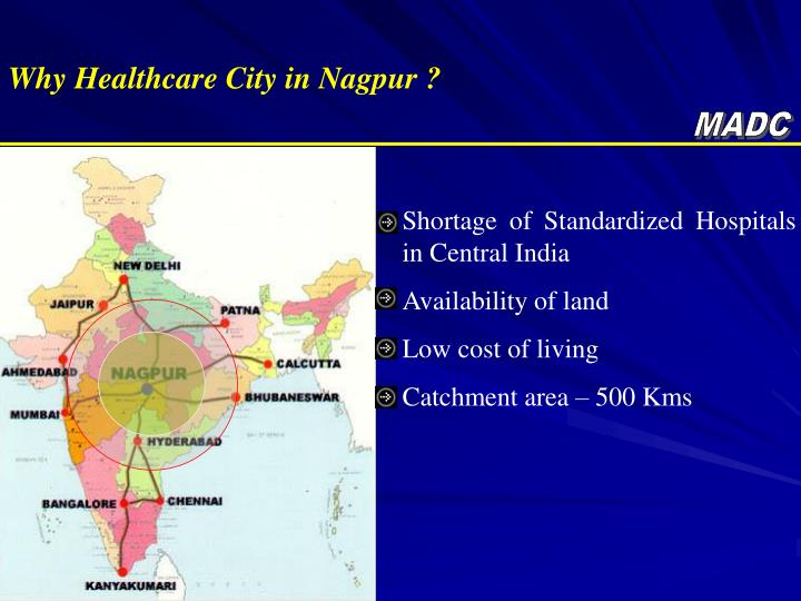 Why Healthcare City in Nagpur ?
