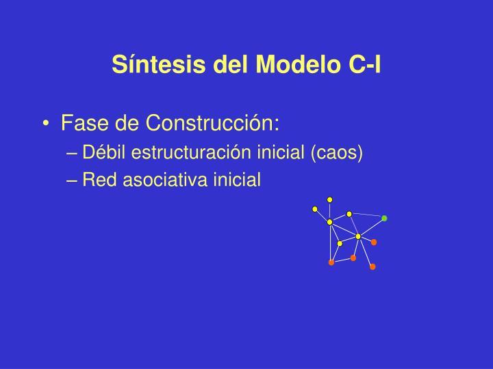Síntesis del Modelo C-I