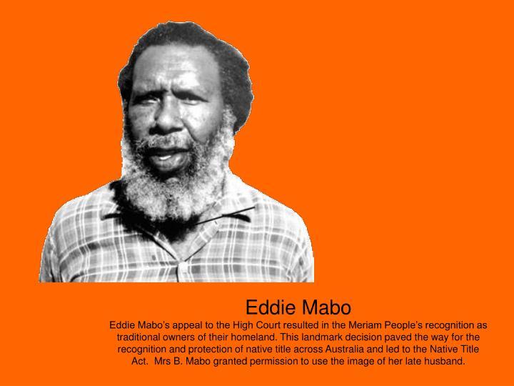 Eddie Mabo