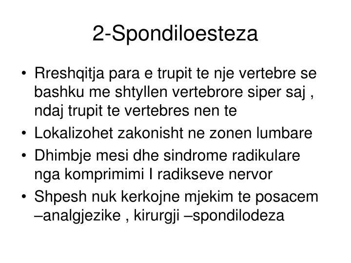 2-Spondiloesteza