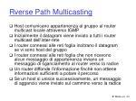 rverse path multicasting1