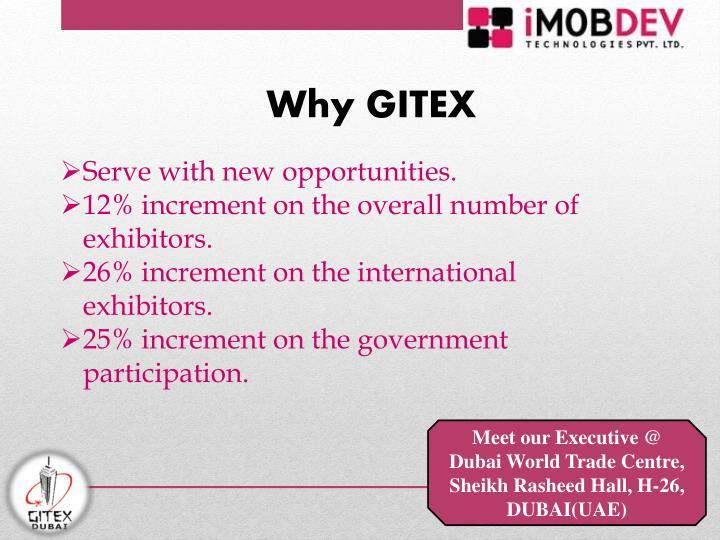 Why GITEX