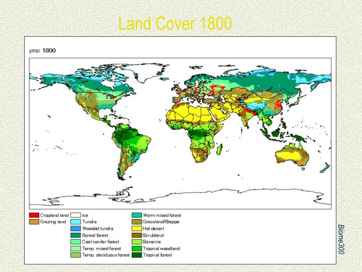 Land Cover 1800