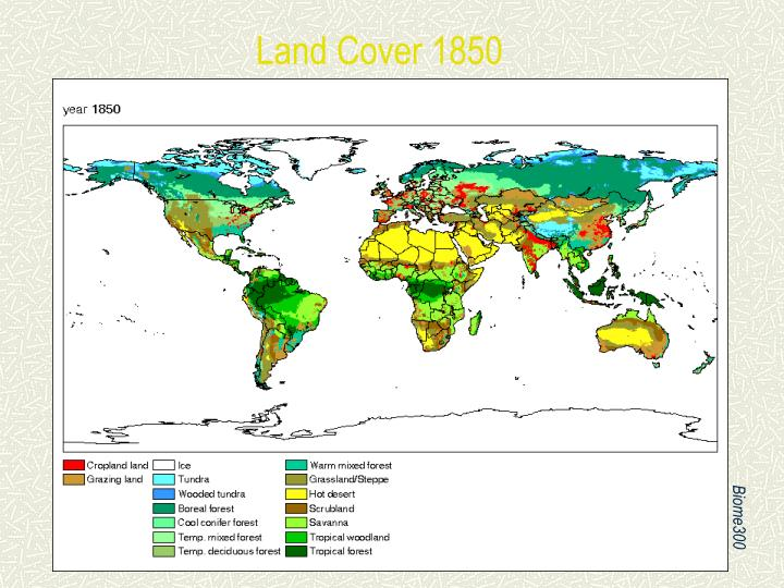 Land Cover 1850