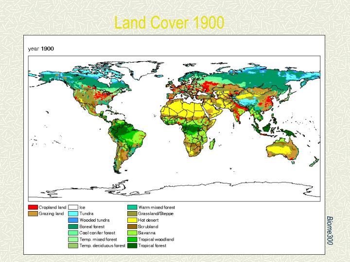 Land Cover 1900