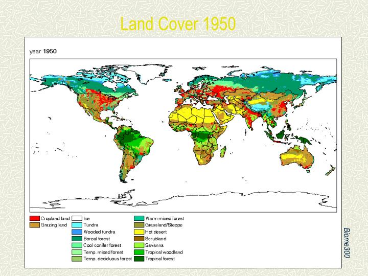 Land Cover 1950