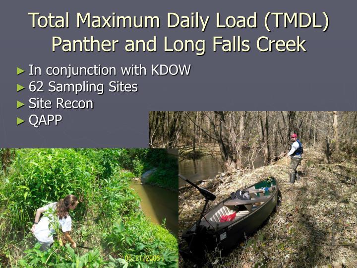 Total Maximum Daily Load (TMDL)