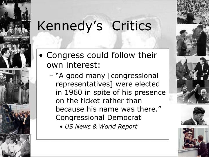 Congress could follow their own interest: