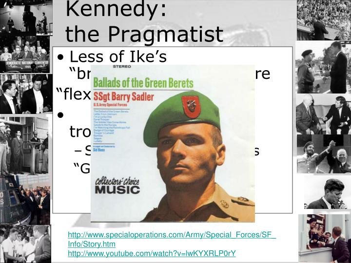 """Less of Ike's """"brinkmanship"""" and more"""