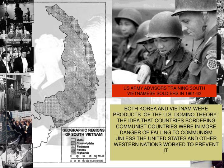 US ARMY ADVISORS TRAINING SOUTH VIETNAMESE SOLDIERS IN 1961-62