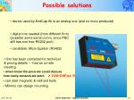 possible solutions1