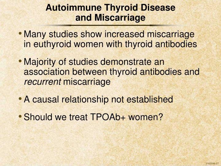 Autoimmune Thyroid Disease