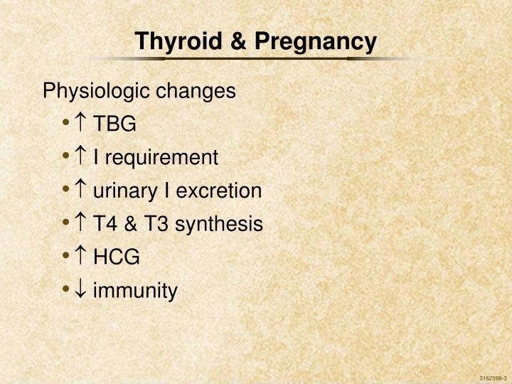 Thyroid & Pregnancy