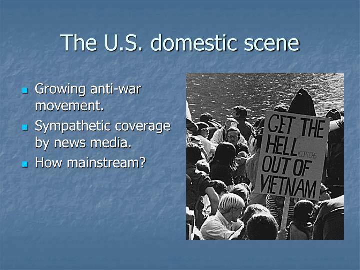 The U.S. domestic scene