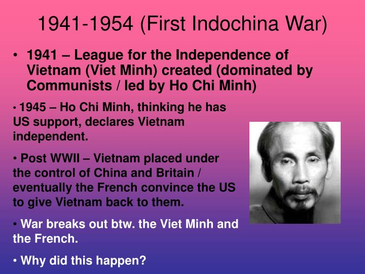 1941-1954 (First Indochina War)