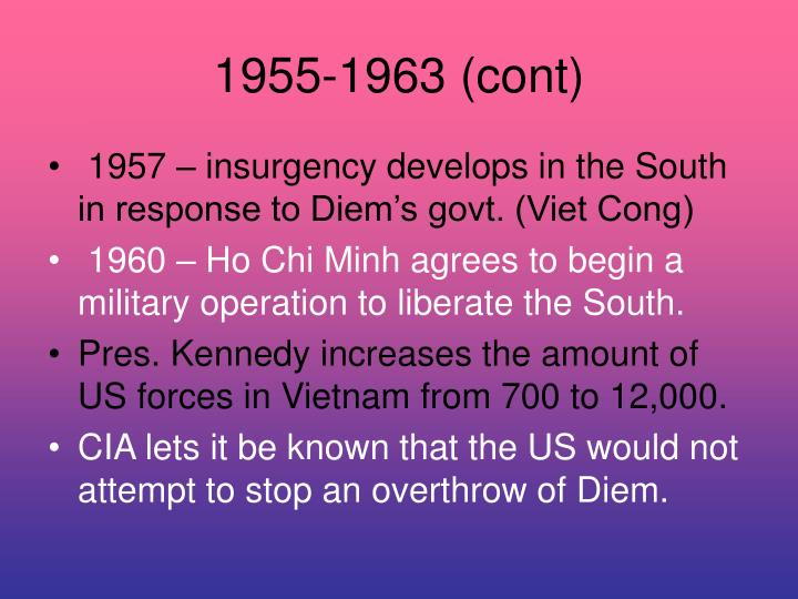1955-1963 (cont)