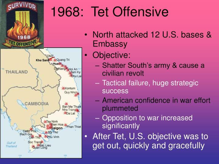 1968:  Tet Offensive