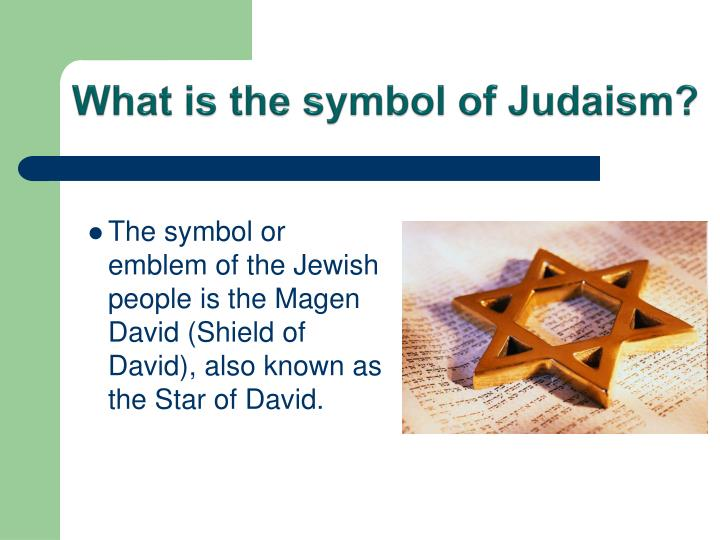 What is the symbol of Judaism?