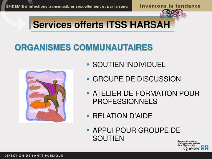 Services offerts ITSS HARSAH