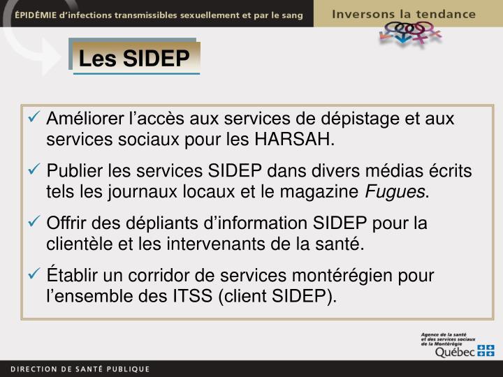 Les SIDEP
