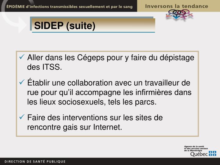 SIDEP (suite)