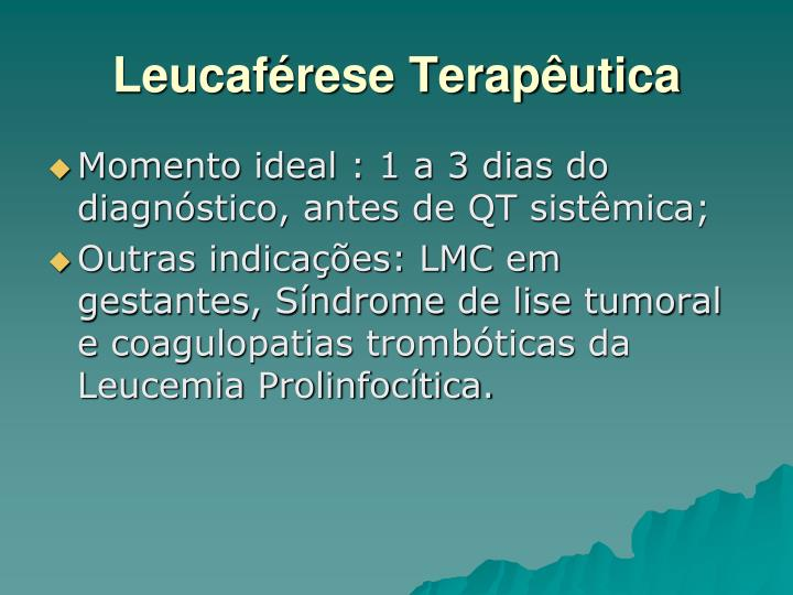 Leucaférese Terapêutica