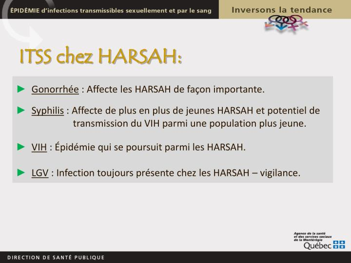 ITSS chez HARSAH: