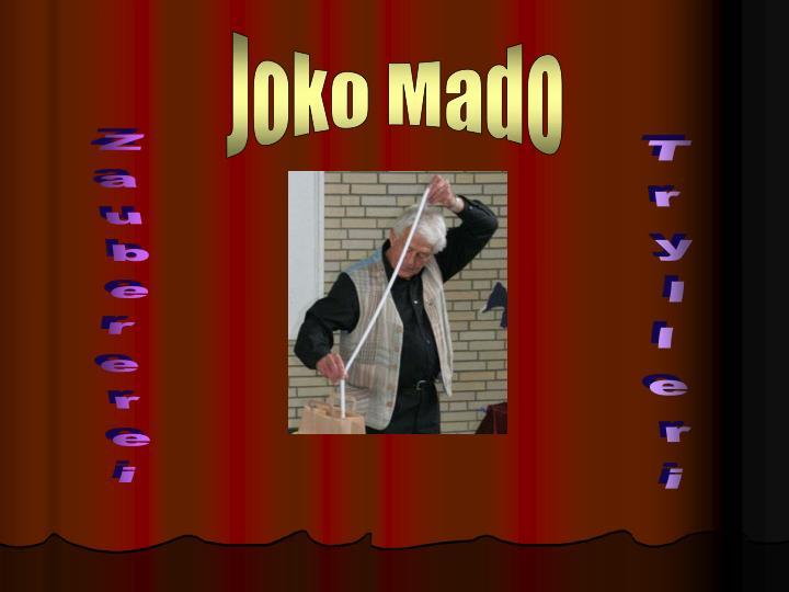Joko Mado
