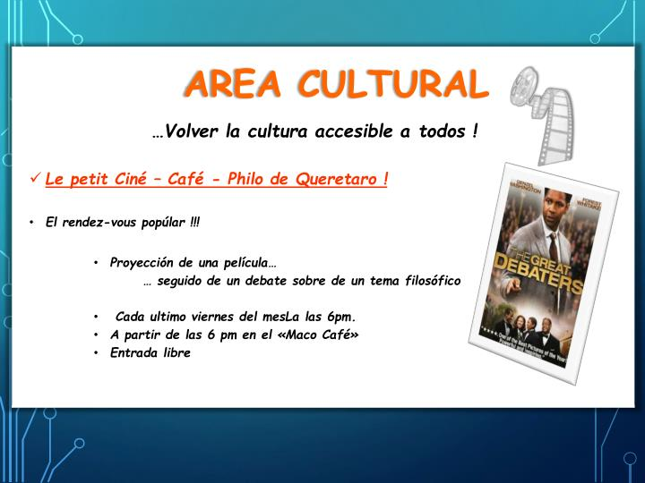 Area Cultural