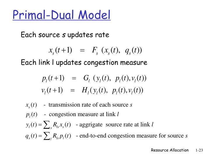 Primal-Dual Model