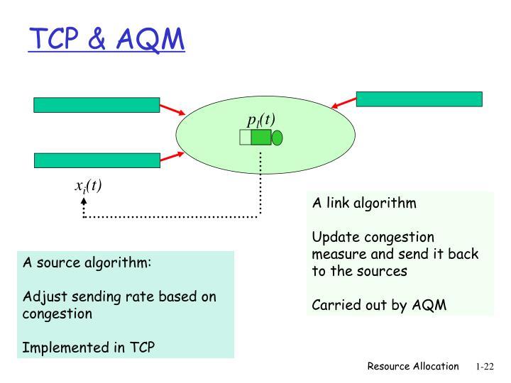 TCP & AQM