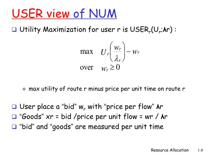 USER view