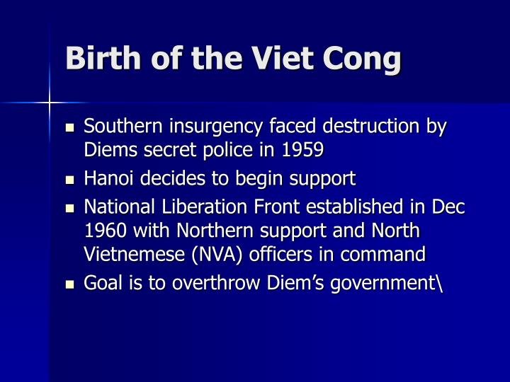 Birth of the Viet Cong
