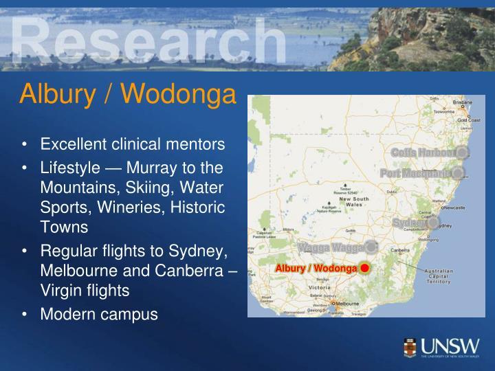 Excellent clinical mentors
