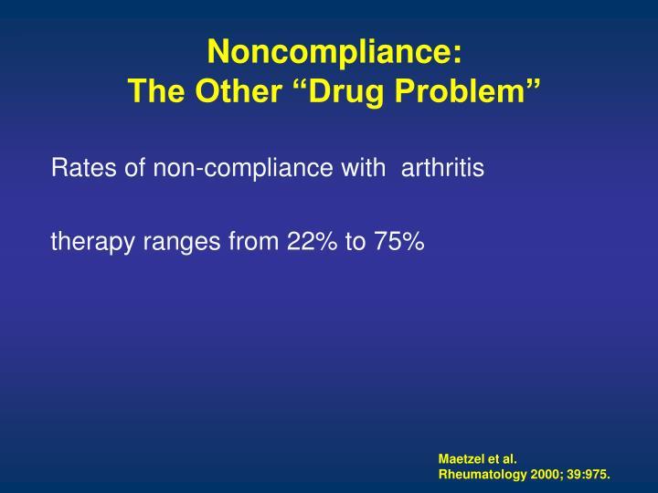 Noncompliance:
