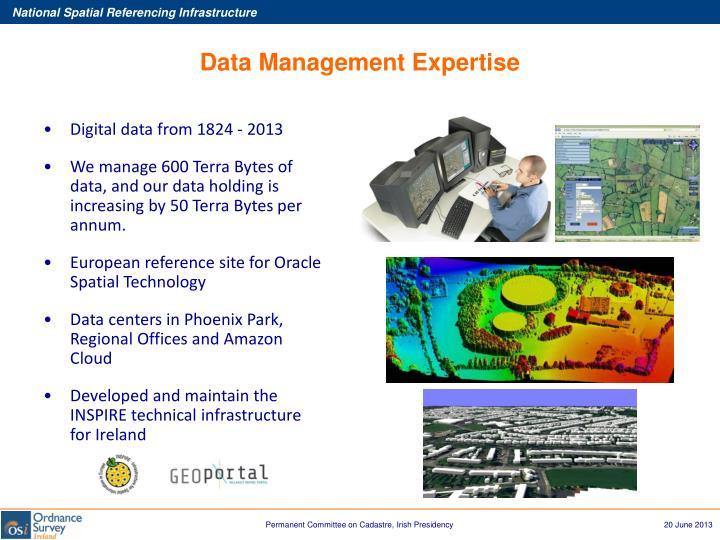 Data Management Expertise