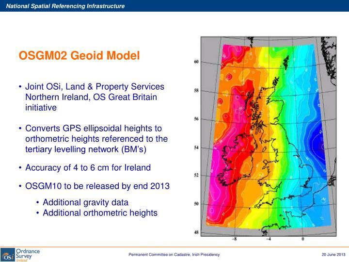 OSGM02 Geoid Model