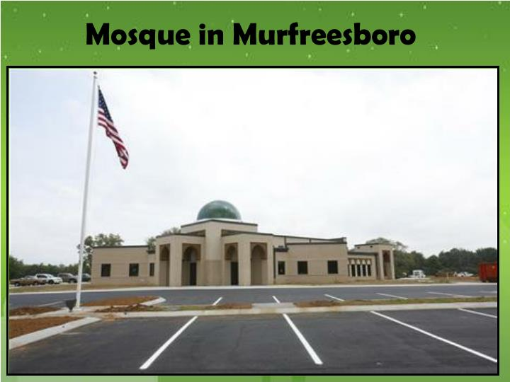 Mosque in Murfreesboro