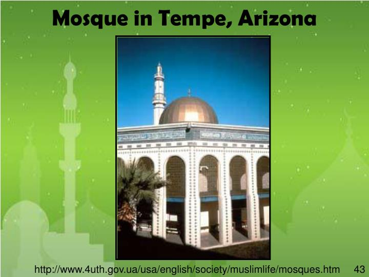 Mosque in Tempe, Arizona