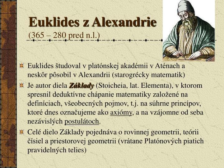 Euklides z Alexandrie