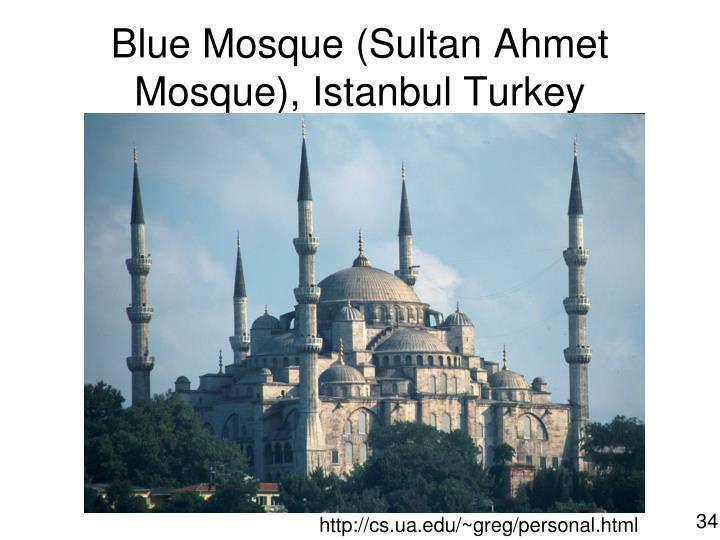 Blue Mosque (Sultan Ahmet Mosque), Istanbul Turkey