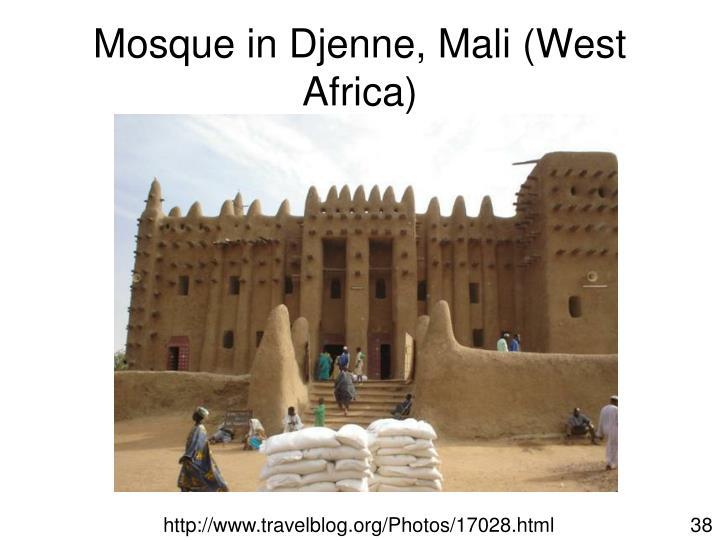 Mosque in Djenne, Mali (West Africa)