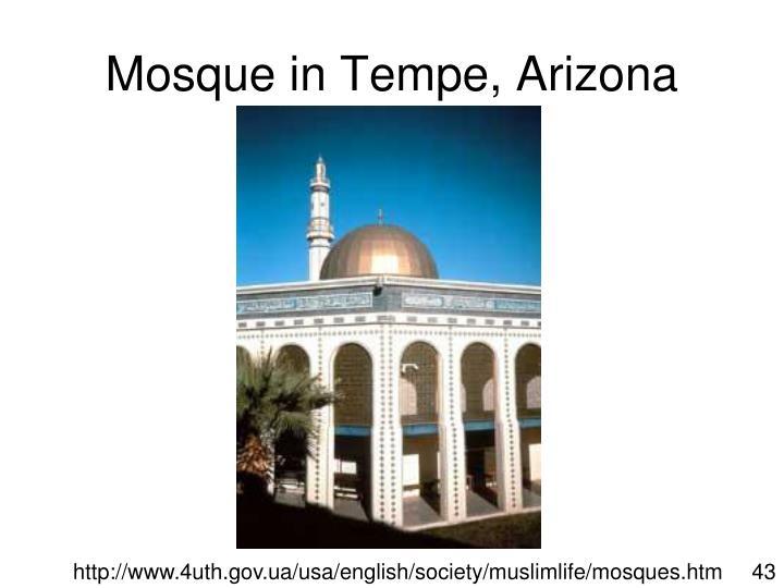 Mosque in Tempe, Arizona
