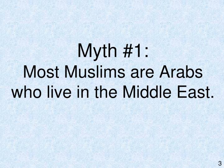Myth #1: