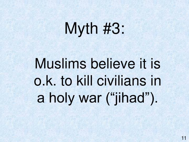Myth #3: