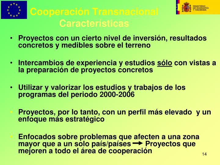 Cooperación Transnacional