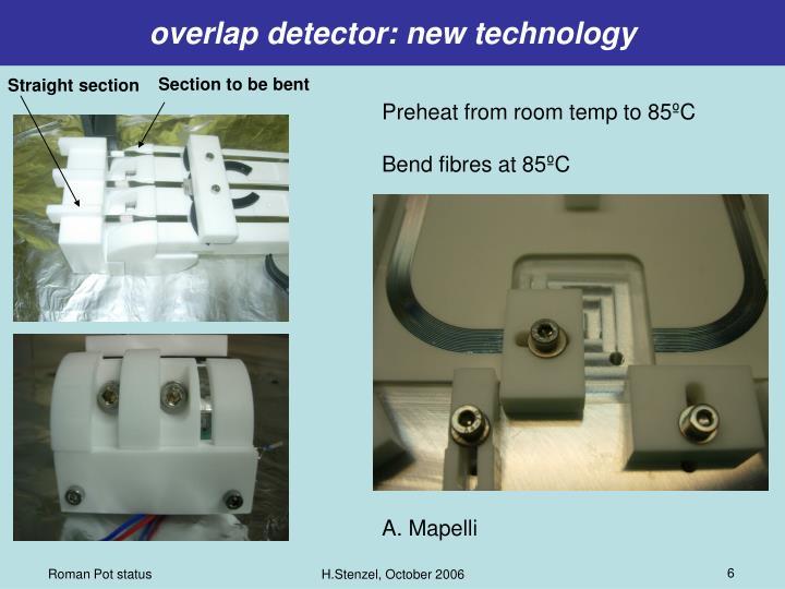 overlap detector: new technology