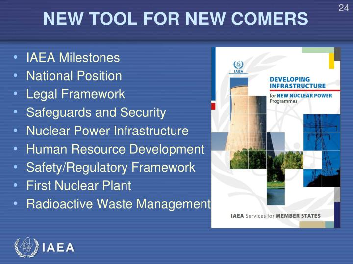 NEW TOOL FOR NEW COMERS